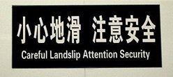 Chinees vertaalbureau - chinglish 059