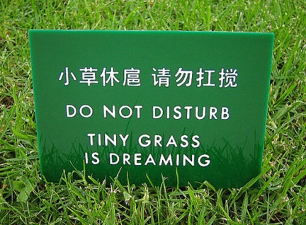 Chinees vertaalbureau - chinglish 084