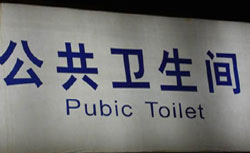 Chinees vertaalbureau - chinglish 133
